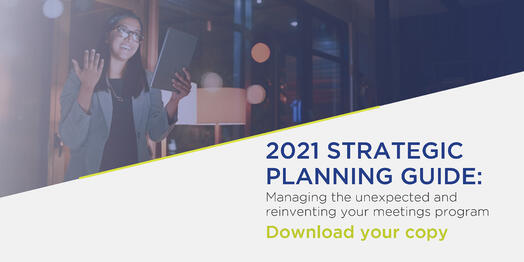 2021 Strategic Planning Guide   Global agency, BCD Meetings & Events