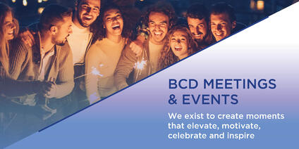 Global, Full-Service Meetings and Events Agency, BCD Meetings & Events