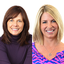 Christine Erickson & Christine Rabbideau_head shot | Global agency, BC Meetings & Events