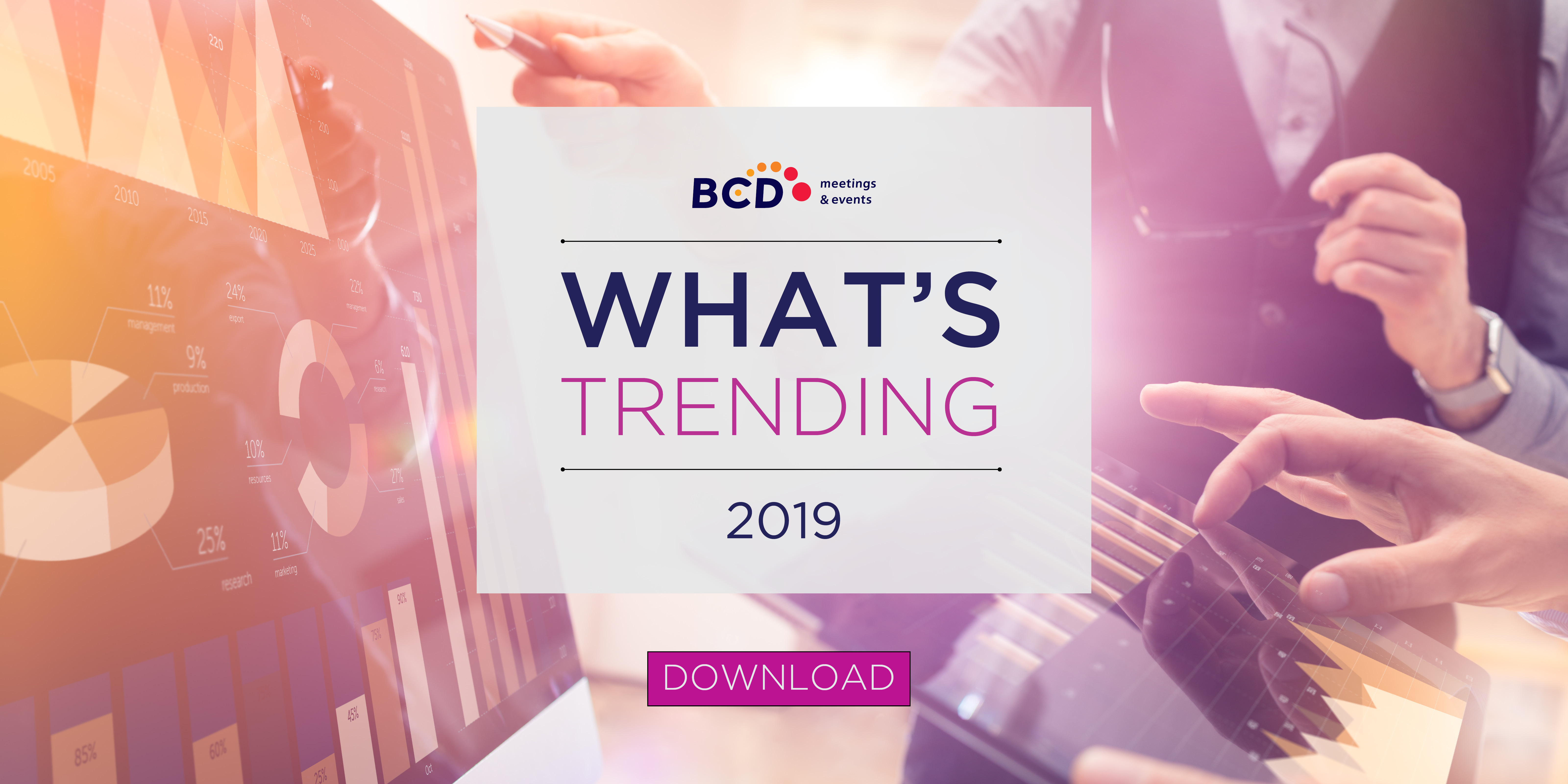 Which Industry Trends are Top-of-Mind for 2019 | BCD Meetings & Events