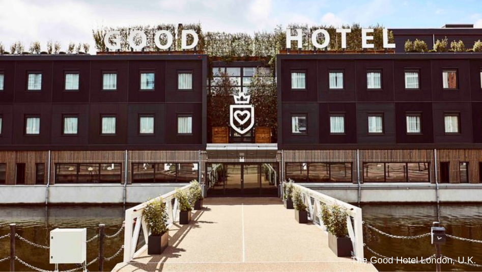 The Good Hotel London - Sustainable Corporate Event Venue | Global Agency, BCD Meetings & Events