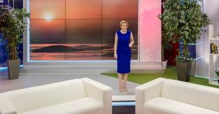 Female talk show host