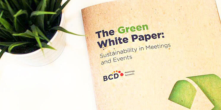 Sustainability in Meetings and Events | BCD Meetings & Events