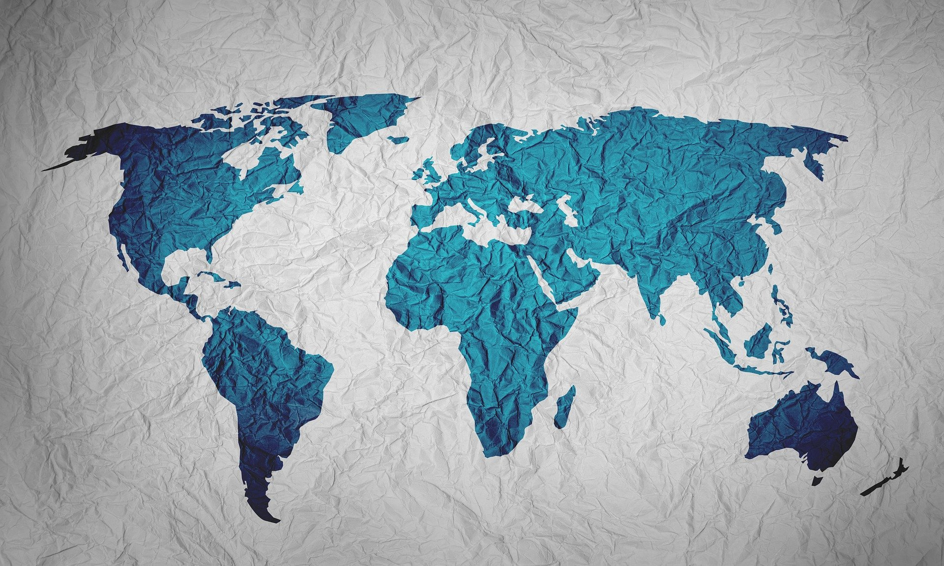 World map showing BCD M&E regions | Global agency, BCD Meetings & Events