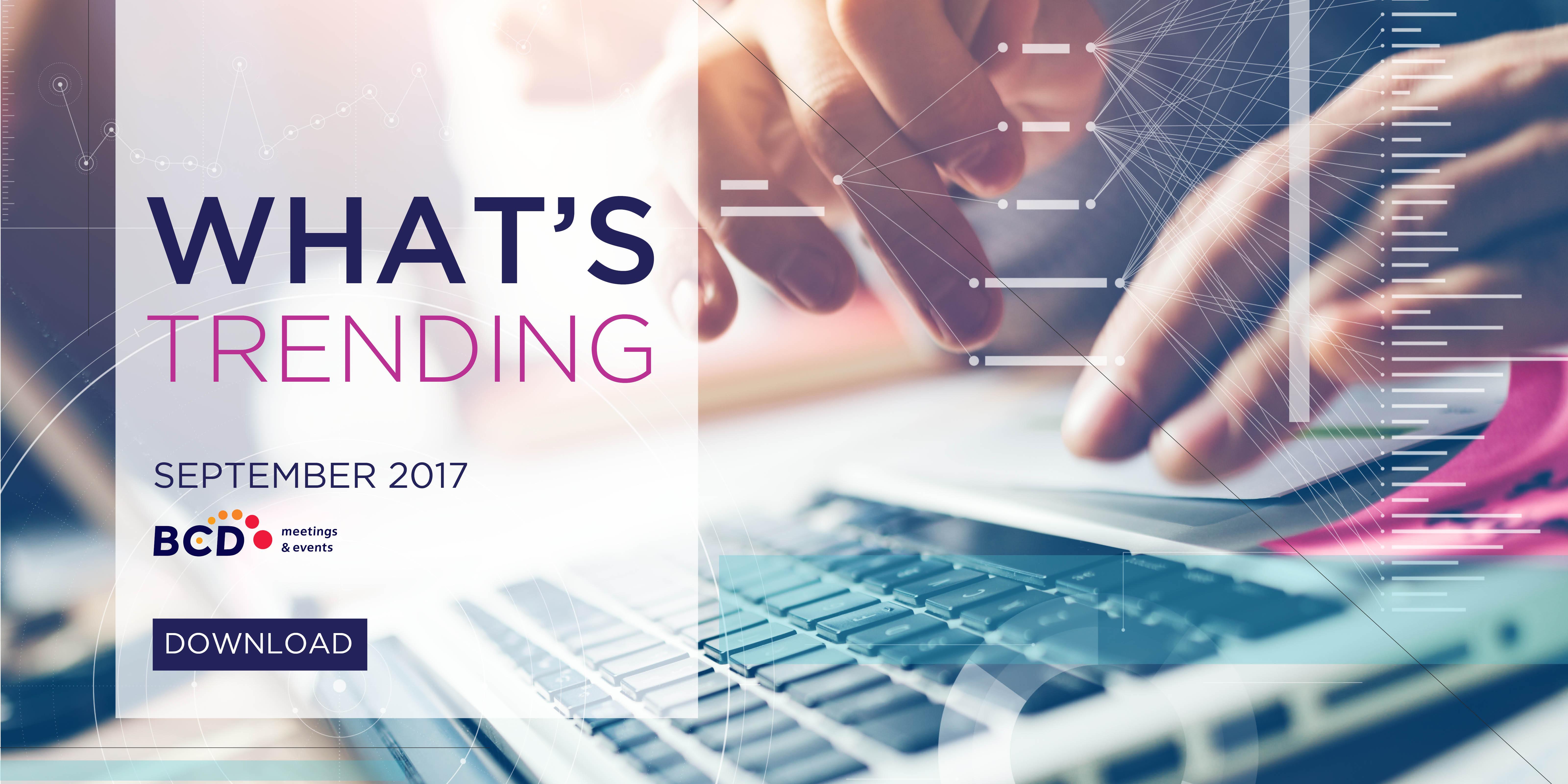 What's Trending September 2017 Download